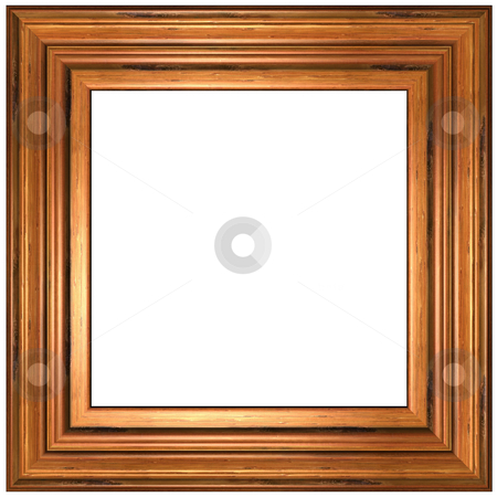 Picture Frame stock photo, Old Wood Picture Frame by Adam Radosavljevic