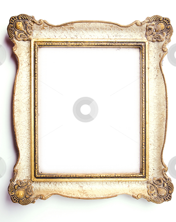 Picture Frame stock photo, Wood Frame on White Background by Adam Radosavljevic