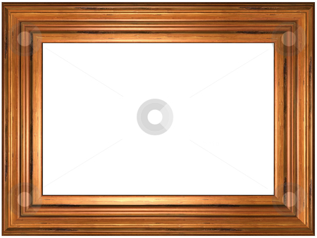 Picture Frame stock photo, Old Wood Picture Frame - art and craft by Adam Radosavljevic