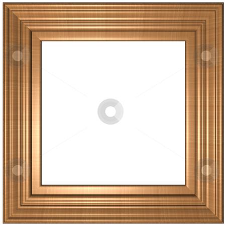 Frame stock photo, Old Gold Picture Frame by Adam Radosavljevic