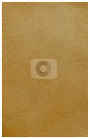 High resolution old vintage yellowing paper. stock photo, High resolution old vintage yellowing paper. by Stephen Rees