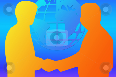 International business agree stock photo, International business agree illustration by Bernardo Varela