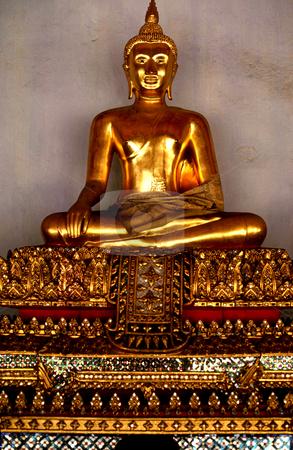 Buddha stock photo, Thailand, Bangkok, Wat Sa Ket, Buddha by David Ryan