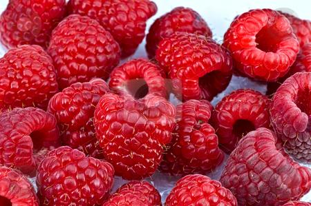 Fresh ripe raspberry stock photo, Fresh ripe raspberry by Oleg Karpenko