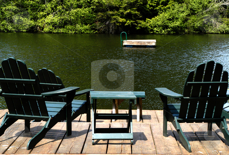 Eagle Lake stock photo, USA, Washington, Orcas Island, Eagle Lake by David Ryan