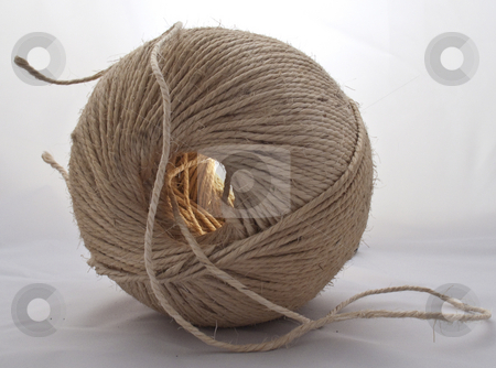 Ball of string stock photo,  by Stephen Clarke