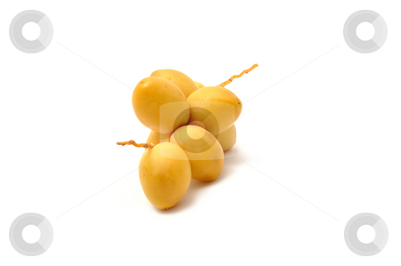 Fresh date fruits stock photo, Fresh date fruits by Robert Biedermann