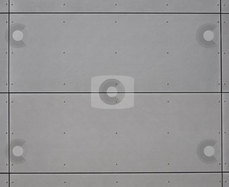 Gray panels  stock photo, Gray panels by Robert Biedermann