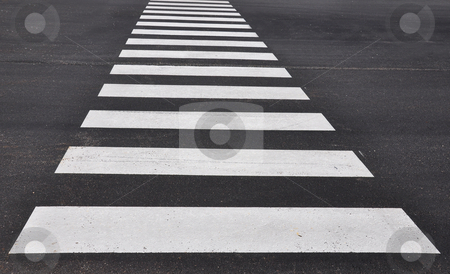 Crosswalk stock photo, Crosswalk by Robert Biedermann