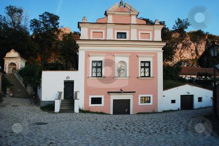 Baroque house in Mikulov stock photo, Picture of a baroque house in Mikulov by Sarka