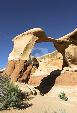 Metate Arch stock photo, Grand Staircase-EscalanteNational Monument, Southwest USA by mdphot