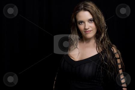 Women in her twenty stock photo, Portait of a women in her twenty by Yann Poirier