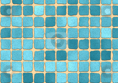 Blue grout stock photo, Blue grout illustration by Monica Boorboor