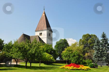Church in Freiland, Styria, Austria stock photo, Church in Freiland, Styria, Austria by Robert Biedermann