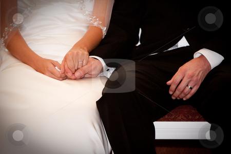 wedding rings bride groom hold holding hands white black