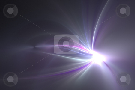 Glowing Fractal Layout stock photo, A glowing fractal design that works great as a background or backdrop. by Todd Arena