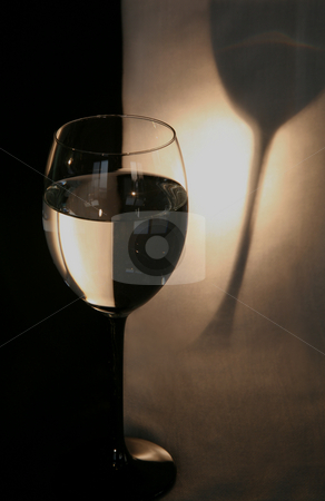 Formal Nights stock photo, Formal NIghts.  Glassware in black and white.  Still life from elements from my home. by Donna Corless