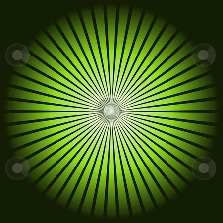 Star Green stock photo, Green star pattern texture on black background. by Henrik Lehnerer