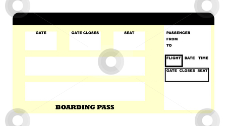 Airplane_Boarding_Pass_Template http://cutcaster.com/photo/100401518-Airline-ticket/