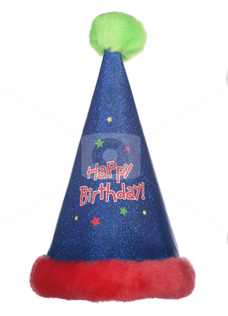 birthday party hat. Happy irthday party hat