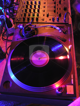 Ready for DJ's stock photo, DJ's Music Equipment by Adam Radosavljevic