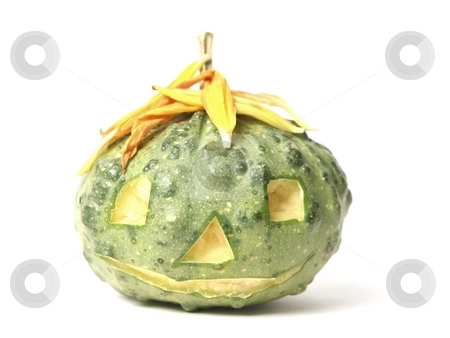 Halloween Pumpkin Head stock photo, A Halloween Pumpkin Head by Lars Kastilan