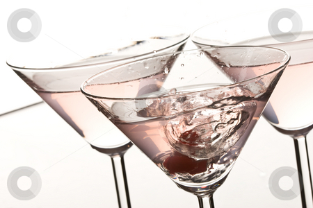Cocktail splash stock photo, Cocktail`s bocal with alcoholic splash by Gennady Kravetsky