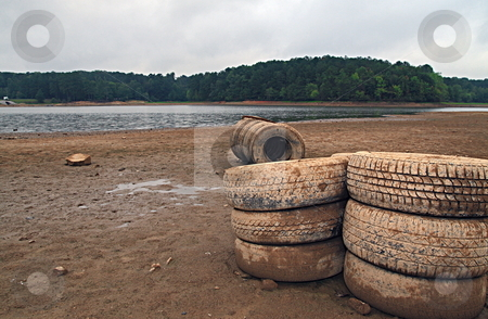 No Rain stock photo, Drought conditions worsens as tempreture rises above 100 degrees by Jack Schiffer