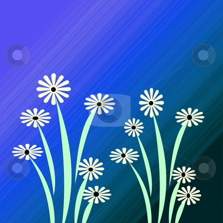 Spring Flower Garden stock photo, Spring flower garden created using photoshop great for background or ecard, calender, cards, by CHERYL LAFOND