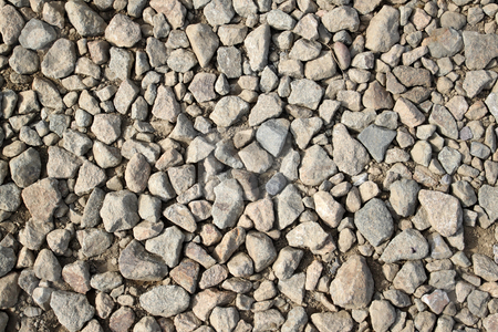 Close up of broken rubble stones. stock photo, Close up of broken rubble stones. by Stephen Rees