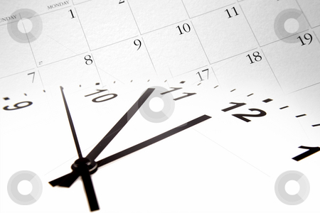 Time and calendar    stock photo, Time and calendar by Les Cunliffe