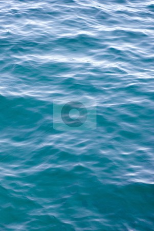Smooth water stock photo, Smooth ripples on the surface of a calm ocean by Stephen Gibson
