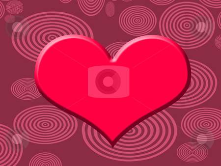 Heart stock photo, Background with heart by Minka Ruskova-Stefanova