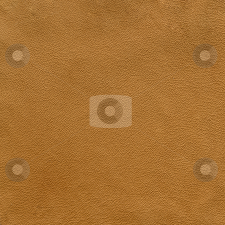 Soft brown leather texture stock photo, Background of soft brown leather with strong texture by Marek Uliasz