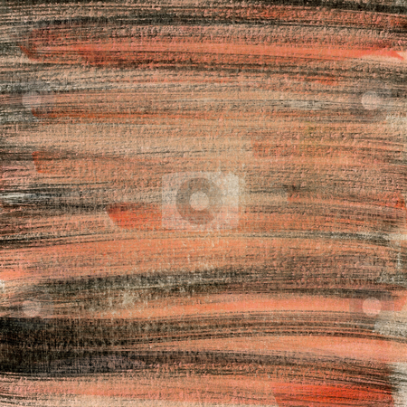 Red and black painted paper texture stock photo, Red, black and white  hand painted watercolor abstract witch scratch texture, self made by Marek Uliasz