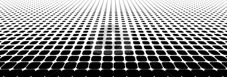 Halftone dots stock vector clipart, Black halftone dots (vector illustration) by ojal_2