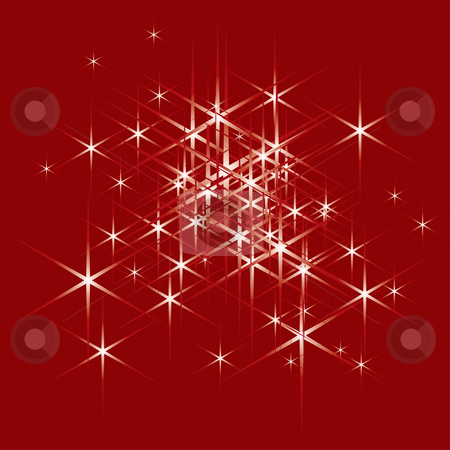 Christmas background stock vector clipart, Decorative design pattern for christmas by ojal_2