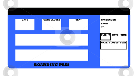 Airplane_Boarding_Pass_Template http://cutcaster.com/photo/100423599-Boarding-pass/