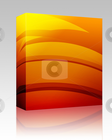 Abstract wallpaper background box package stock photo, Software package box Abstract wallpaper background illustration of smooth flowing colors by Kheng Guan Toh