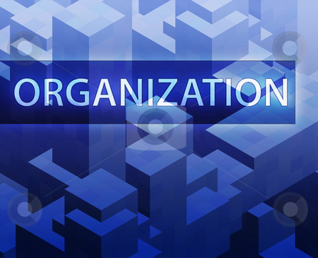 Strategy illustration stock photo, Strategy illustration, management organization structure concept clipart by Kheng Guan Toh