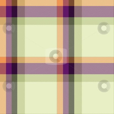 Plaid tartan pattern stock photo, Scottish tartan plaid material pattern texture design by Kheng Guan Toh