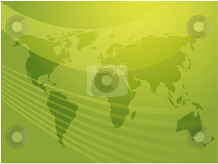 World map stock photo, Map of the world illustration, abstract design by Kheng Guan Toh