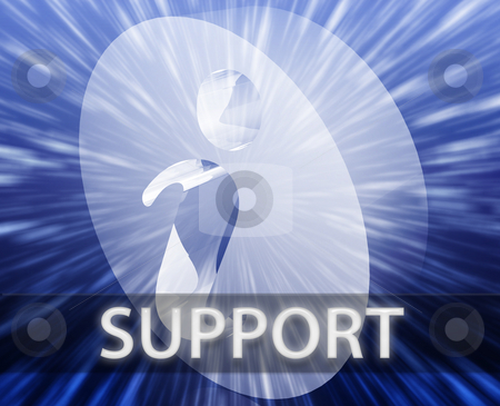 Support information stock photo, FAQ Information frequently asked questions help support illustration by Kheng Guan Toh