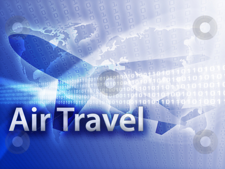 Online travel stock photo, Online travel, illustration of electronic booking reservation by Kheng Guan Toh