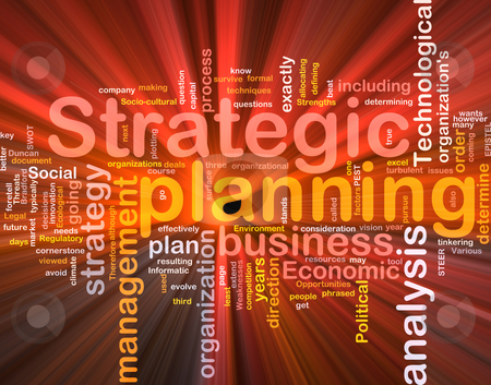 Strategic planning word cloud box package stock photo, Software package box Word cloud concept illustration of strategic planning by Kheng Guan Toh