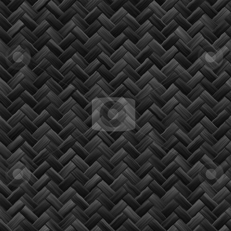 Woven basket texture stock photo, Woven basket texture seamlessly tiling rendered background illustration by Kheng Guan Toh