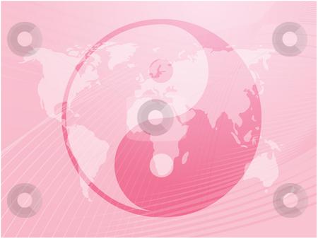 Yin Yang symbol stock photo, Yin yang symbol oriental representation of duality by Kheng Guan Toh
