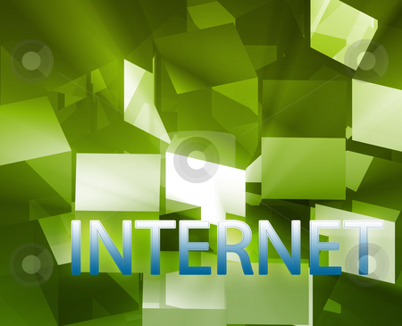 Internet data structures stock photo, Internet data structures networking web information architecture illustration by Kheng Guan Toh