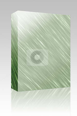 Metal texture box package stock photo, Software package box Brushed glossy metal surface, scratched texture background by Kheng Guan Toh