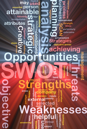 SWOT word cloud box package stock photo, Software package box Word cloud concept illustration of SWOT strengths weaknesses by Kheng Guan Toh